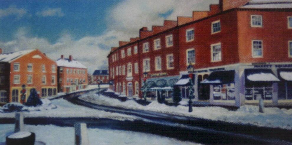 """First Snow- Newburyport"""