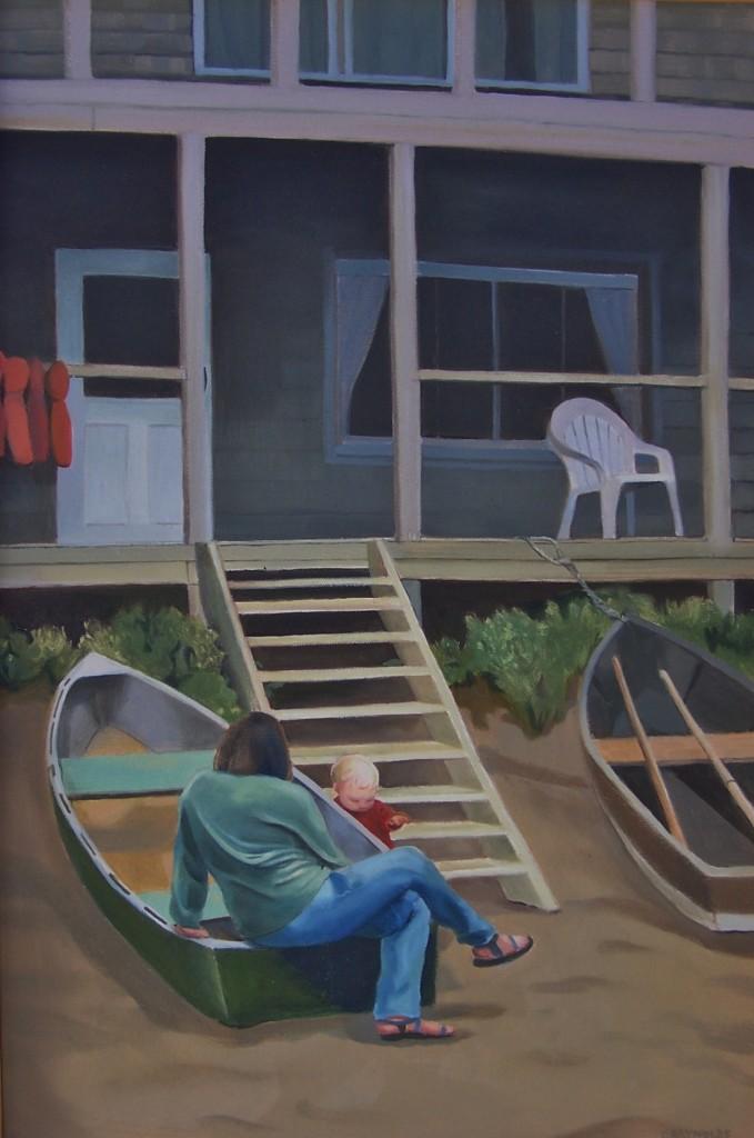 """""""The Oar House"""""""